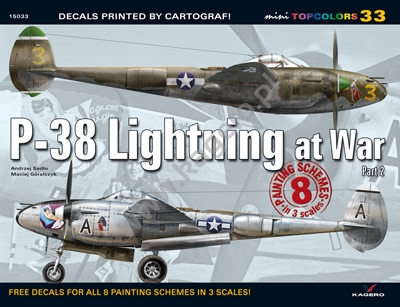 33 - P-38 Lightning at War Part 2 (kalkomania) - Image 1