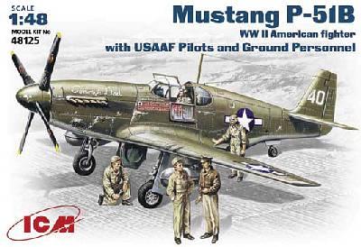 North American P-51 B - ICM 1/48 437_rd