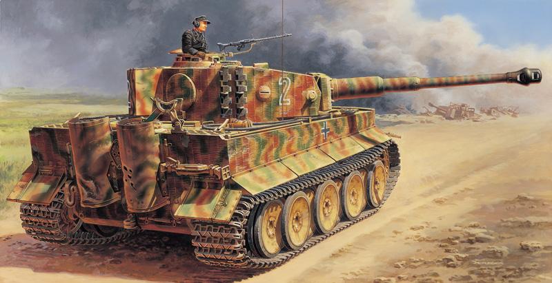 Camuflajes Tiger 2832_rd