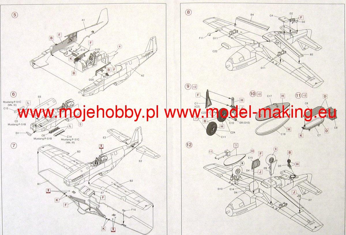 North American P-51 B - ICM 1/48 1265_2_icm48125_5