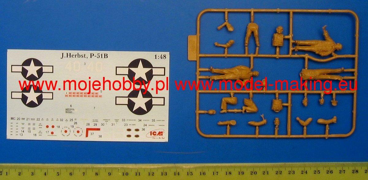 North American P-51 B - ICM 1/48 1265_1_icm48125_1