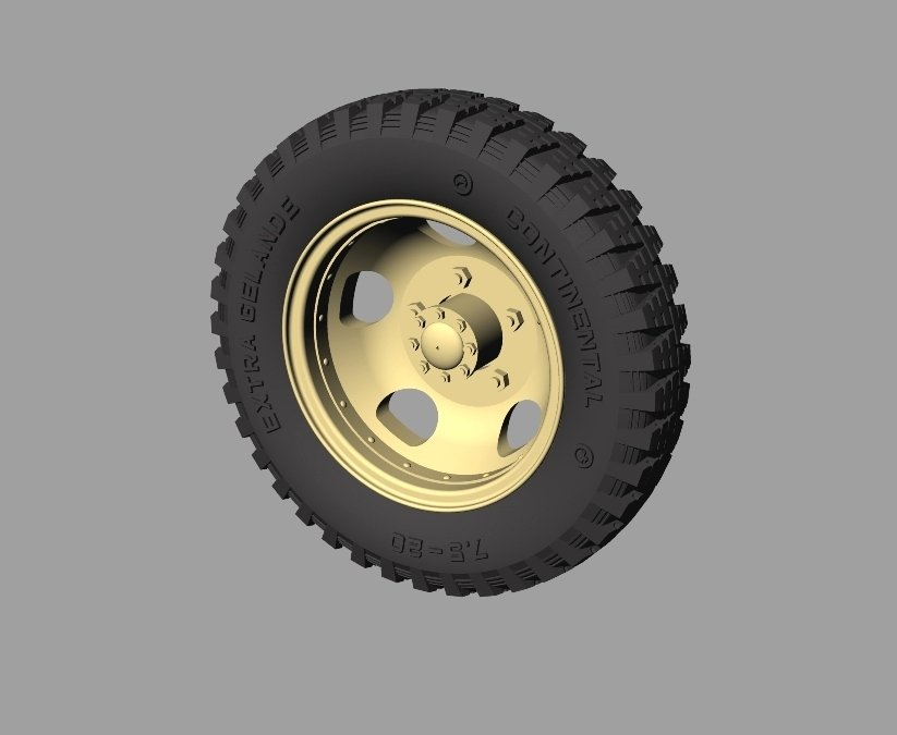 Ford 3000 Rims : Ford road wheels gelande pattern panzerart re