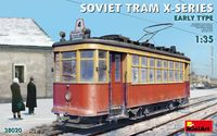 Soviet Tram X-Series Early Type
