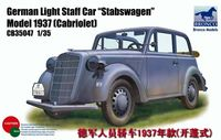 German Opel Light Staff Car Model 1937 (Cabriolet)