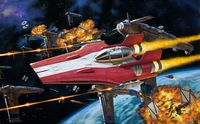 Star War Resistance A-Wing Fighter, R