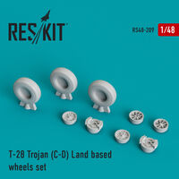 T-28 Trojan (C-D) Land based wheels set