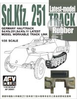 Sd.Kfz.251Track Latest Model Rubber - Image 1