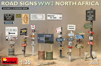 Road Signs WWII North Africa