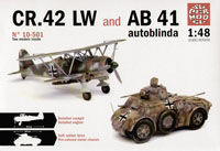 FIAT CR.42 LW and AB 41 Autoblinda