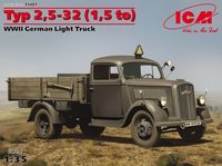 Typ 2,5-32 (1,5 to), WWII German Light Truck
