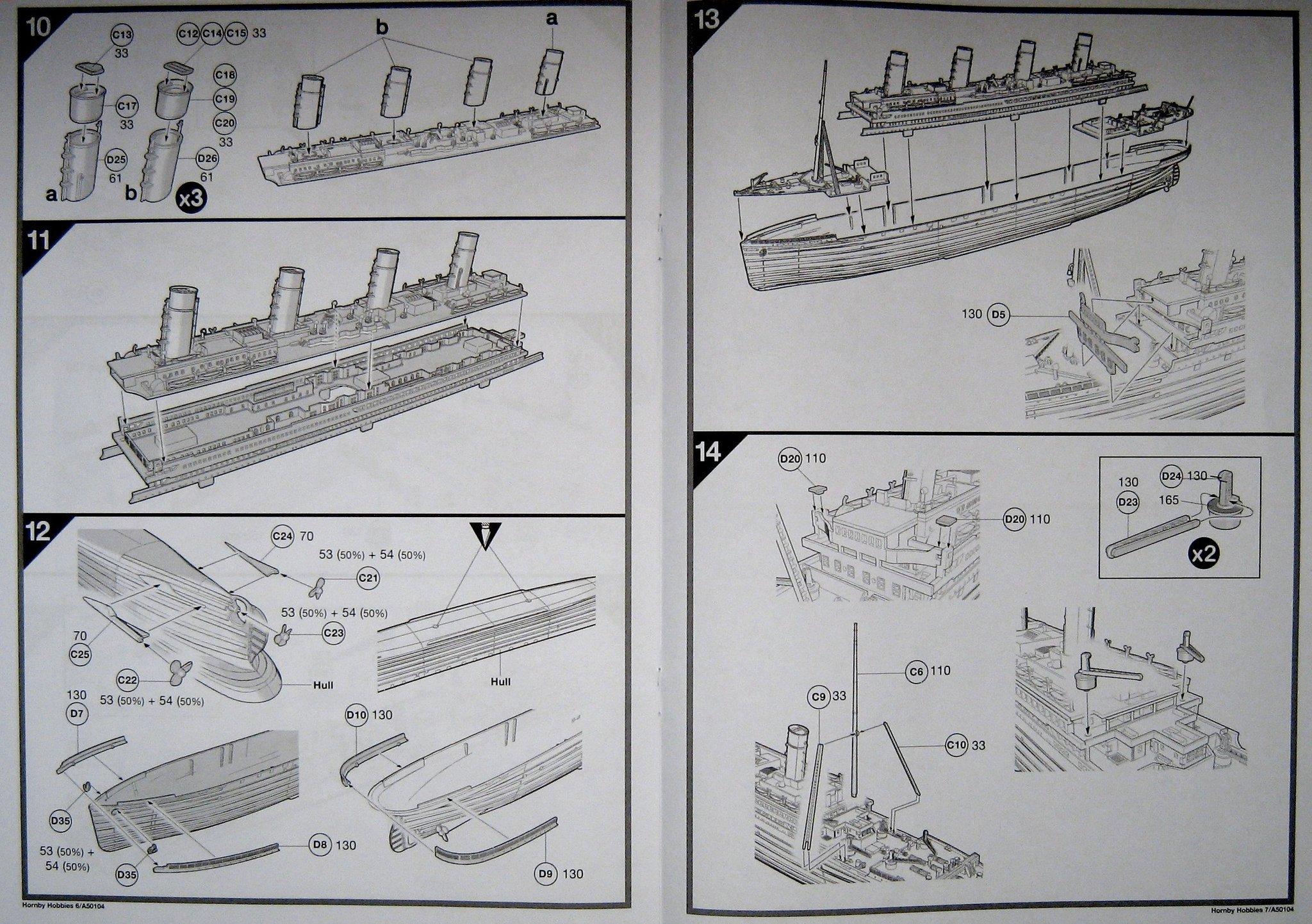 Titanic Gift Rms Xotuziwpk Set Airfix 50104 GVUMqpSz
