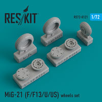 MiG-21 (F/F13/U/US) wheels set