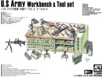 U.S Army Workbench & Tool set