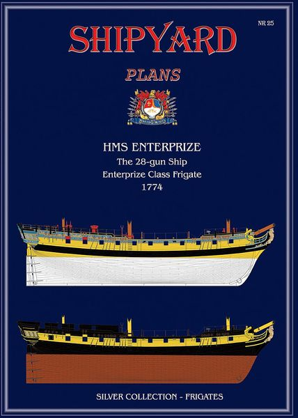 HMS Enterprize 1774 nr25 - Image 1