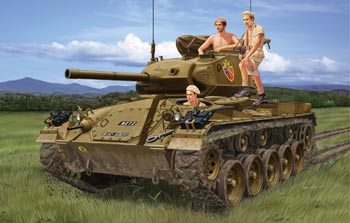 "French M24 ""Chaffee"" In Indochina War - Image 1"