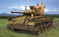 "French M24 ""Chaffee"" In Indochina War"