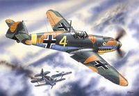 Bf 109F-4 WWII German Fighter