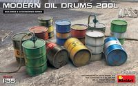 Modern Oil Drums 200L