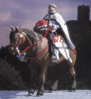 Teutonic Knight Mounted Ca.1226 - Image 1