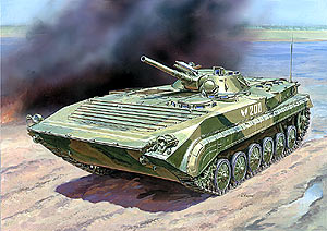 BMP-1 Russian infantry fighting vehicle - Image 1