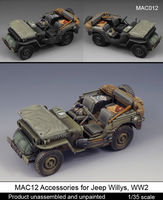 Accessories for Jeep Willys, WW2 /dedykowane do modelu Tamiya - Image 1