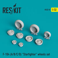 "F-104 (A/B/C/D) ""Starfighter"" wheels set"