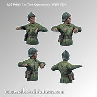 Polish 7TP Tank Commander #2 - Image 1