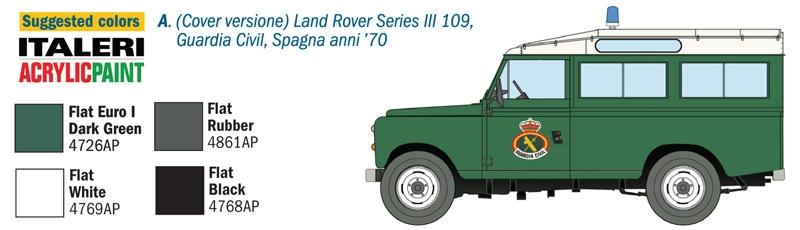 Land Rover Series III Italeri 6542