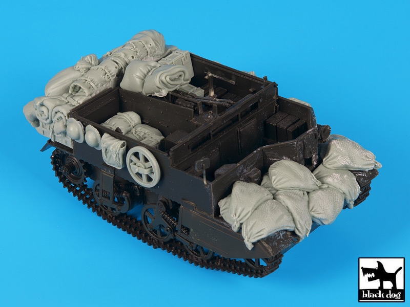 Bren carrier accessories set N°2 for Tamiya - Image 1