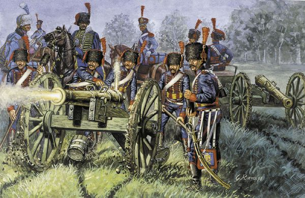 French Line Guard Artillery - Image 1