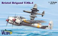 Bristol Brigand T.Mk.4 British light and fast bomber used for training of radar operators