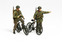 British Paratroopers Set - w/Bicycles