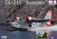 Canadair CL-215 Scooper amphibious aircraft