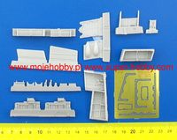 Tempest - Armament set for starboard side wing, Special Hobby kit