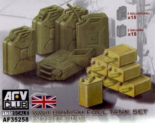 British WWII Fuel and water tank Set - Image 1