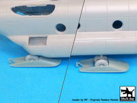 CH-47 Chinook ski accessories set for Italeri - Image 1