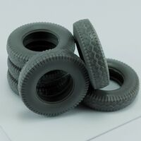 Spare tires for German SS-100 for Tamiya