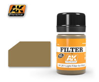 AK 261 LIGHT FILTER FOR WOOD,35ML