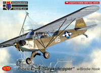 "Piper L-4 ""Grasshopper"" w/Brodie Hook"