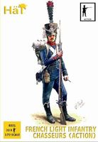 1808-1812 French Light Infantry Chasseurs Action - Image 1