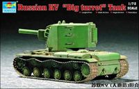 Soviet KV Big Turret Tank