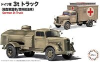 German 3t Truck (Ambulance & Fuel Tanker) 2 in 1 - Image 1