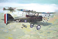 RAF S.E.5a (w/Hispano Suiza) WW1 fighter