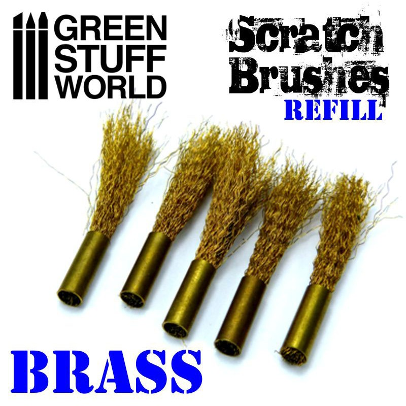 BRASS Refill for Scratch Brush - Image 1