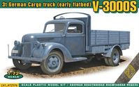 V3000S 3t German Cargo Truck (early flatbed) - Image 1