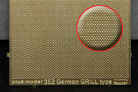 Engraved plate - German Grill