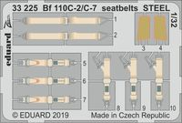 Bf 110C-2/C-7 seatbelts STEEL REVELL - Image 1