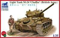 "Light Tank M-24 ""Chaffee"" (British Army) - Image 1"