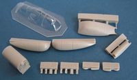 Spitfire PR. ID + vacu canopy for Airfix - Image 1