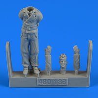 German WWII Tank crew - Trooper A Figurines